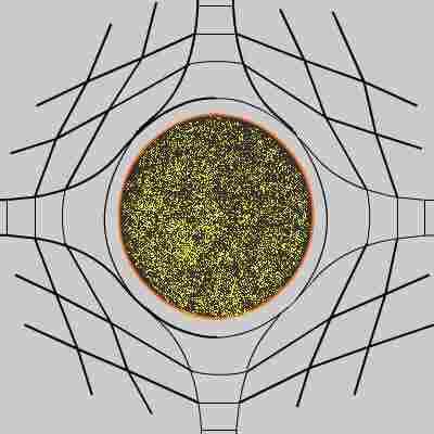 Resultado de imagen de Simetría radial de la Gravedad