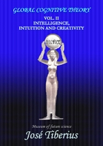 Cover of the book on Intelligence, Intuition and Creativity. Egyptian goddess Nut with the Sun above her head.