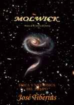 Portada del libro de Física y Metafísica del Tiempo. interacting pair of galaxies Arp 273.